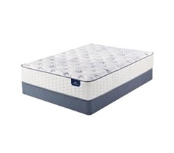 Serta Queen Size Plush Mattress and Box Spring Set  serta select 300 plush