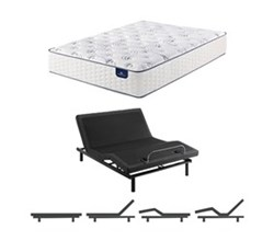 Serta King Size Mattress Adjustable Base serta select 300 plush