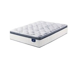 Serta King Size Plush Pillow Top Mattress Only serta select 500 plush spt