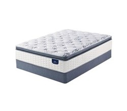 Serta Twin Size Plush Pillow Top Mattress and Boxspring Sets serta select 500 plush spt