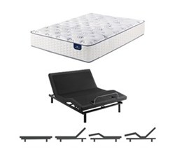 Serta King Size Mattress Adjustable Base select 400 plush king size mattress and adjustable base