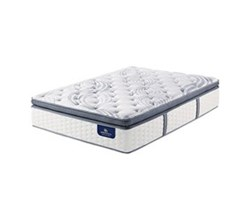 Serta Full Size Pillow Top Mattresses serta elite 600 plush spt