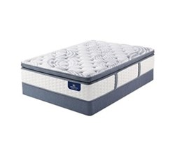 California King Size Plush Super Pillow Top Mattress serta elite 600 plush spt