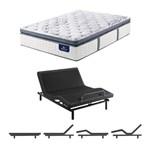 Serta Elite 700 Firm Spt Queen Mattress W Base Serta Perfect Sleeper