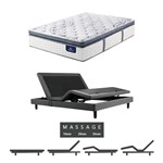 Serta Elite 700 Firm Spt Twinxl Mattress W Mass Base Serta Perfect Sle