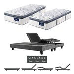 Serta Elite 700 Firm Spt Split King Mattress W Mass Base Serta Perfect