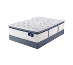 Twin Size Standard Height 9 in Mattress Sets  serta ultimate 2000 super pillow top