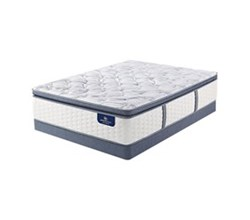 Serta Full Size Plush Pillow Top Mattress and Boxspring Sets serta ultimate 2000 super pillow top