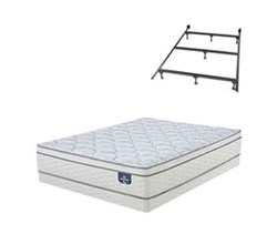 Serta Mattresses and Low Profile Box Spring Sets W Frame serta euro top 200