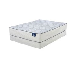Serta Queen Size Plush Mattress and Box Spring Set  serta plush 200