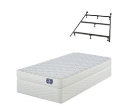 Mattress Box Spring Sets With Frame serta firm foam 100