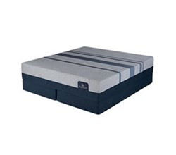 Serta Twin Extra Long Luxury Plush Mattress and Boxspring Sets serta icomfort blue max 5000