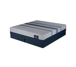 Serta Queen Size Luxury Plush Mattress and Boxspring Sets serta icomfort blue max 5000