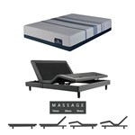Serta Blue Max 3000-queen Mattress W Mass Base Icomfort Mattress
