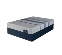 Queen Size Standard Height 9 in Mattress Sets  serta icomfort blue max 1000 ps