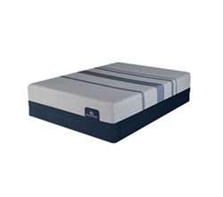 Serta Twin Extra Long Luxury Plush Mattress and Boxspring Sets serta icomfort blue max 1000 ps