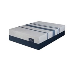 Serta Queen Size Luxury Plush Mattress and Boxspring Sets serta icomfort blue 100