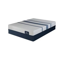 Serta Queen Size Luxury Plush Mattress and Boxspring Sets serta icomfort blue 300