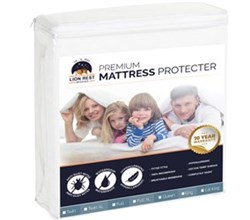 Serta Mattress Protectors  lion rest premium fitted mattress protector