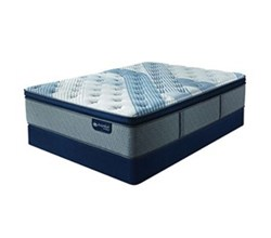 Queen Size Standard Height 9 in Mattress Sets  serta icomfort blue fusion 4000 ppt