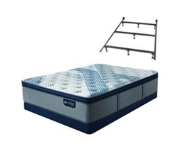 Full Size Low Profile 5.5 in Mattress Sets serta icomfort blue fusion 4000 ppt