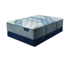 Queen Size Standard Height 9 in Mattress Sets  serta icomfort blue fusion 3000 pl