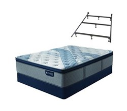 Serta Cal King Size Firm Super Pillow Top Mattresses  iComfort Blue Fusion 5000 CFPT