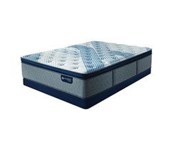 Cal King Size Low Profile 5.5 in Mattress Sets serta icomfort blue fusion 1000 ppt