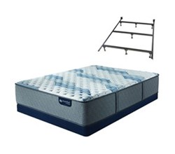 Mattress Box Spring Sets With Frame serta icomfort blue fusion 500 xf