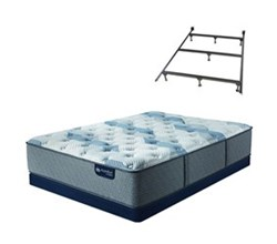 Mattress Box Spring Sets With Frame serta icomfort blue fusion 100 f
