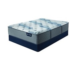 Queen Size Standard Height 9 in Mattress Sets  serta icomfort blue fusion 200 pl