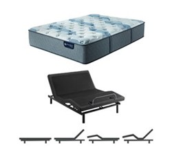 Serta Twin XL Size Mattress Adjustable Base serta icomfort blue fusion 200 pl