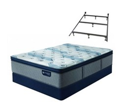 Serta California King Size Mattress Box Spring Sets with Frame serta icomfort blue fusion 300 ppt