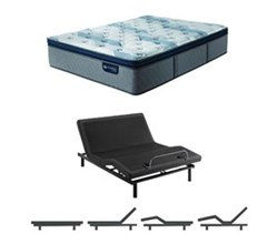 Serta Twin XL Size Mattress Adjustable Base serta icomfort blue fusion 300 ppt