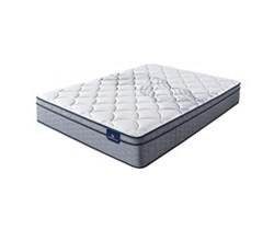 Serta Cal King Size Plush Mattresses  perfect sleeper elkins ii pet