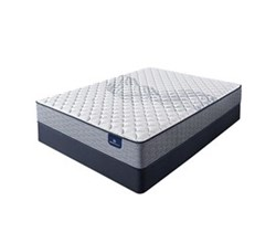 Serta Queen Size Extra Firm Mattress and Box Spring Set perfect sleeper elkins II f