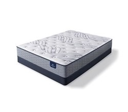 Serta Full Size Soft Feel Luxury Plush Mattress  perfect sleeper select kleinmon ii pl