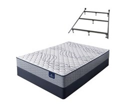 Serta Queen Size Extra Firm Mattress and Box Spring Set W Frame perfect sleeper select kleinmon ii f