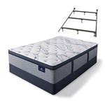 Serta Trelleburg II PPT Full STD Set w Frame Serta Perfect Sleeper Eli