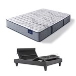 Serta Trelleburg II F TwinXL Mattress w BL Base Serta Perfect Sleeper