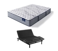Serta Full Size Extra Firm Mattress and Adjustable Base perfect sleeper elite trelleburg ii f