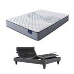 Serta Elkins II F TwinXL Mattress w BL Base Serta Perfect Sleeper