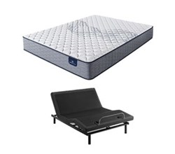 Serta Full Size Extra Firm Mattress and Adjustable Base perfect sleeper elkins II f