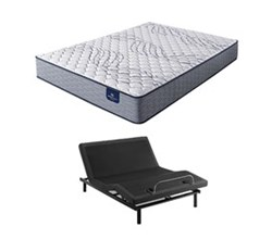 Serta Full Size Extra Firm Mattress and Adjustable Base perfect sleeper select kleinmon ii f