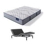 Serta Trelleburg II XF Queen Mattress w AM Base Serta Perfect Sleeper