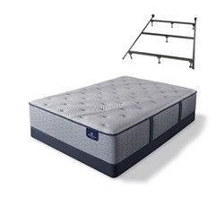 Serta TwinXL Size Luxury Firm Mattress and Box Spring Set W Frame  perfect sleeper hybrid standale ii lf