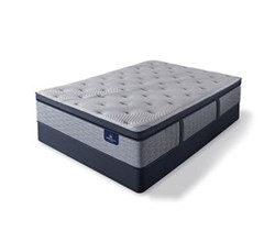 Serta Full Size Plush Super Pillow Top Mattress and Box Spring Set  perfect sleeper hybrid standale ii ppt