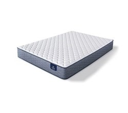 Serta King Size Extra Firm Mattress sleeptrue malloy f