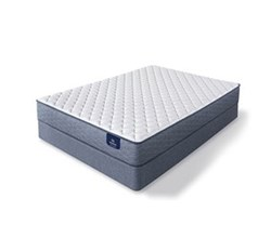 Serta Twin Size Extra Firm Mattress and Box Spring Set sleeptrue malloy f