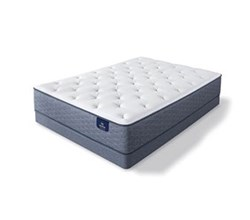 Serta Full Size Soft Feel Luxury Plush Mattress  sleeptrue alverson ii pl